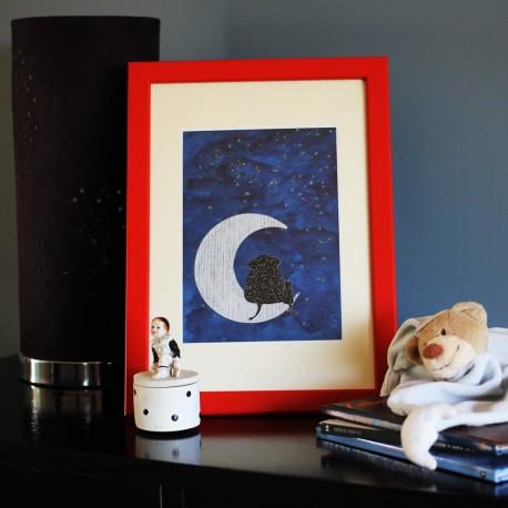 Le tableau Lune