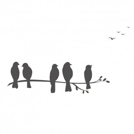 Le sticker Oiseaux
