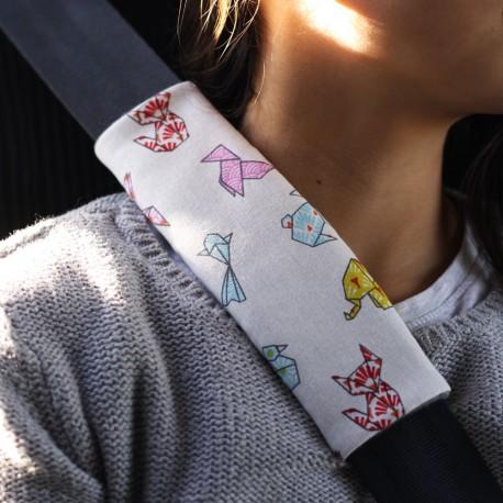 Le protège ceinture de sécurité
