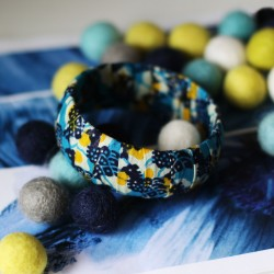 Le bracelet à manchette Lagune