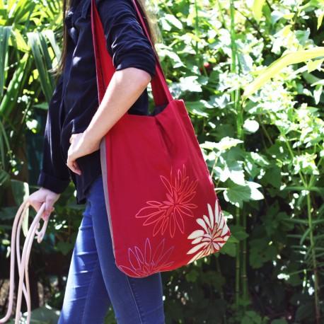 Le sac fleuri