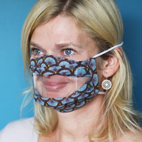 Masque de protection transparent