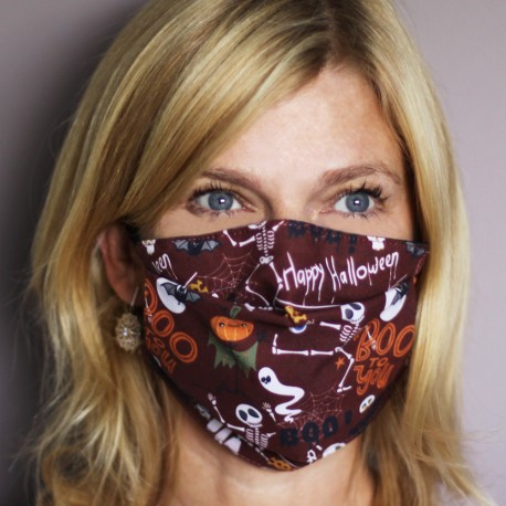 Masque de protection Halloween - Taille Adulte