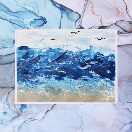 La mer agitée